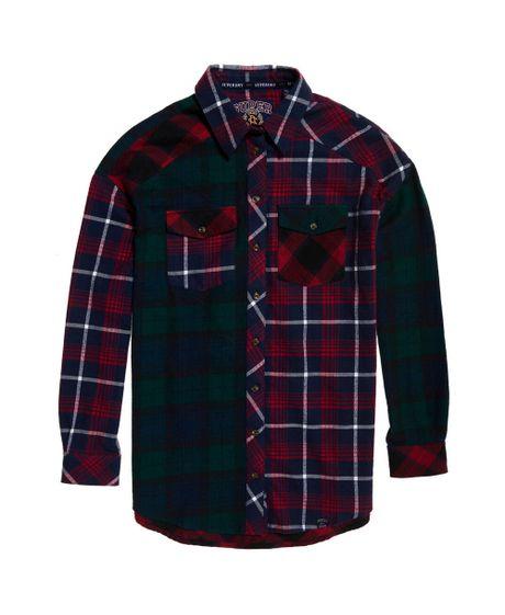 camisa-para-mujer-bailee-mixed-check-shirt-superdry