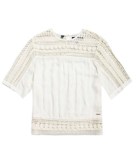Camiseta-Para-Mujer-Richelle-Cut-Sew-Camiseta-Superdry
