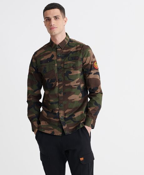 camisa-para-hombre-core-military-patched-shirt-superdry