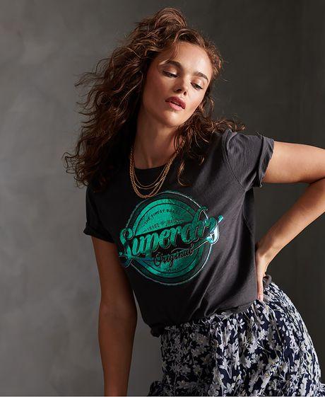 Camiseta--Para-Mujer-Original-G-Foil-Entry-Tee-Superdry
