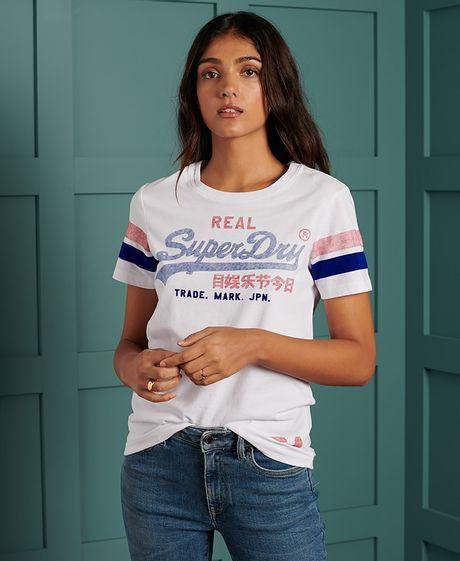 Camiseta--Para-Mujer-Vl-Varsity-Tee-Superdry