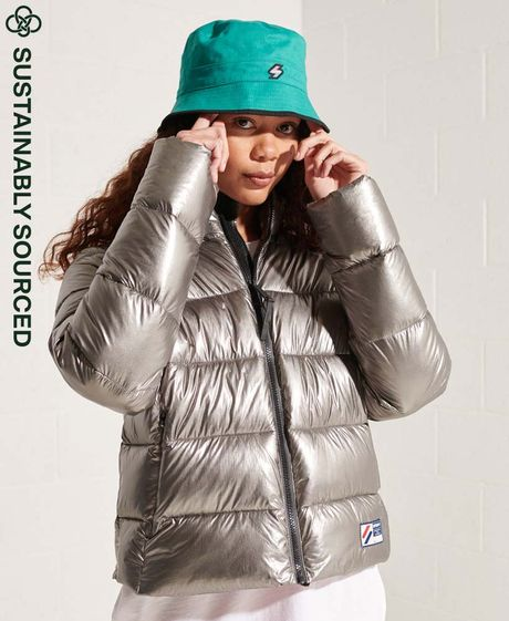 Chaqueta-Padded-Para-Mujer-Cropped-Puffer-Superdry