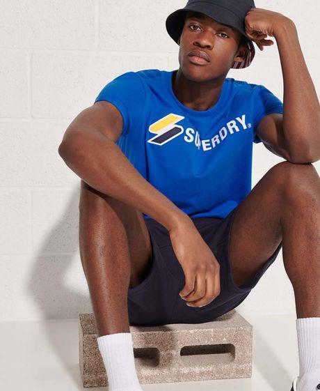 Camiseta-Para-Hombre-Sportstyle-Applique-Tee-Superdry