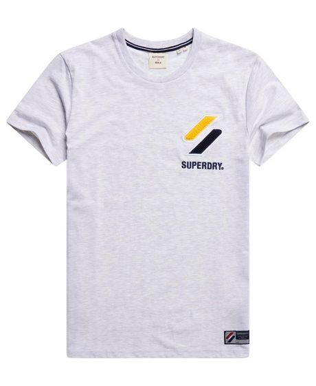 Camiseta-Para-Hombre-Sportstyle-Chenille-Tee-Superdry