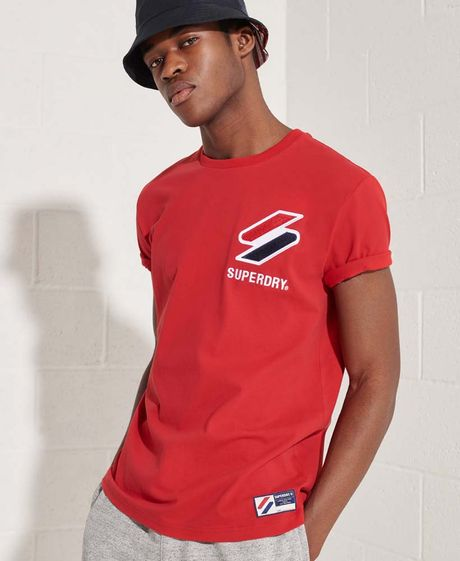 Camiseta-Para-Hombre-Sportstyle-Chenille-Tee-Superdry