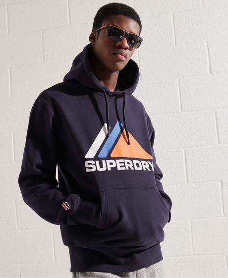 Buzo-Hoodie-Cerrado-Para-Hombre-Mountain-Sport-Hood-Superdry