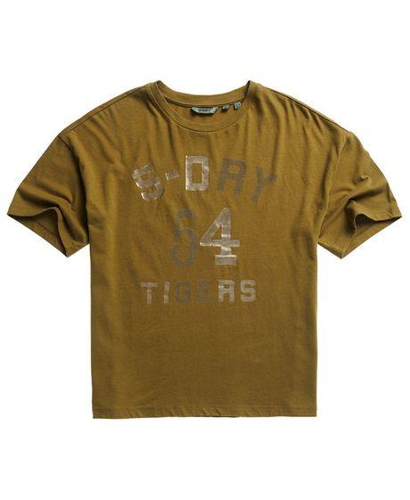 Camiseta-Para-Mujer-Military-Narrative-Boxy-Tee-Superdry
