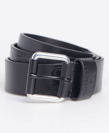 Casual-Para-Hombre-Vermont-Leather-Belt-Superdry