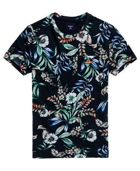 Camiseta-Para-Hombre-Aop-Pocket-Tee-Superdry