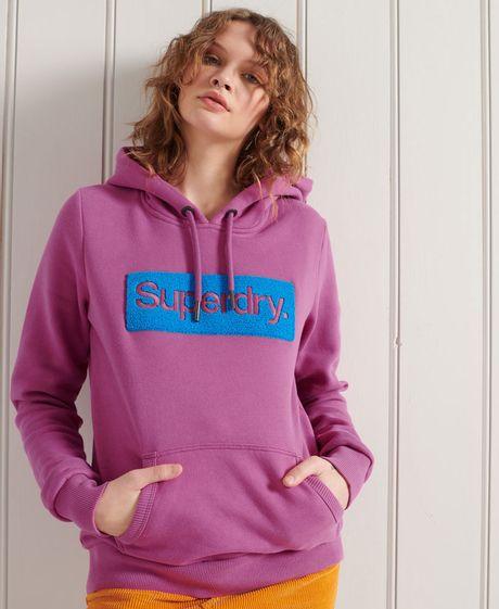 Buzo-Hoodie-Cerrado-Para-Mujer-Cl-Workwear-Hood-Superdry