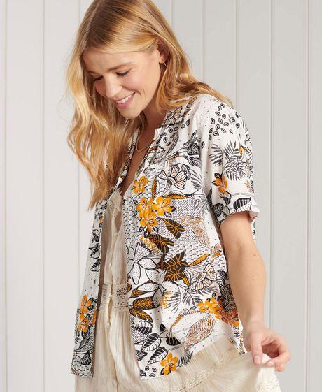 Camisa-Para-Mujer-Resort-Shirt-Superdry