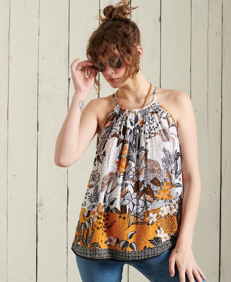 Camiseta-Para-Mujer-Beach-Cami-Top-Superdry