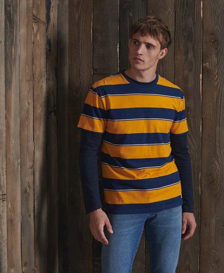 Camiseta-Para-Hombre-R-P-Box-Fit-Stripe-Tee-Superdry