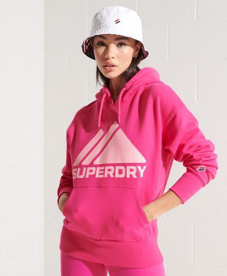 Buzo-Hoodie-Cerrado-Para-Mujer-Mountain-Sport-Mono-Hood-Superdry
