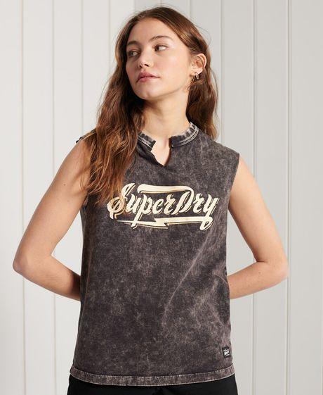 Camiseta-Para-Mujer-Bohemian-Band-Vest-Superdry
