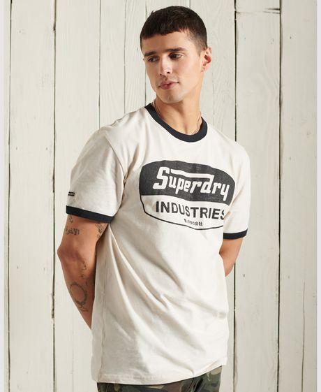 Camiseta-Para-Hombre-Boho-Ringer-Graphic-Tee-Superdry