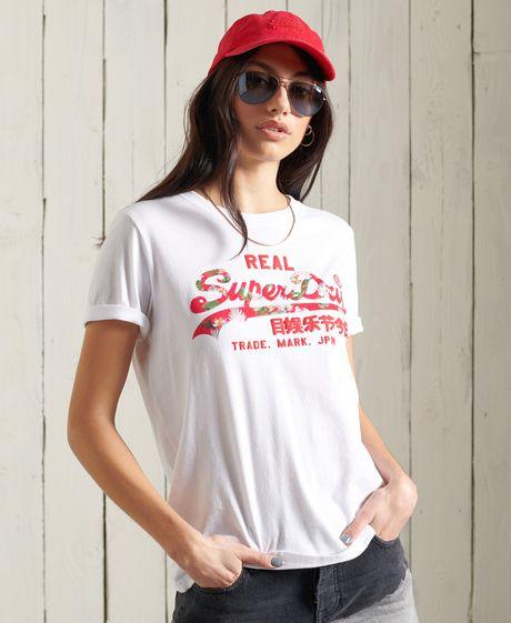Camiseta-Para-Mujer-Vl-Infill-Tee-Superdry
