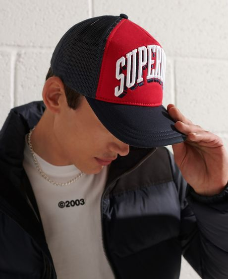 Gorra-Para-Hombre-Sport-Tri-Logo-Trucker-Cap-Superdry