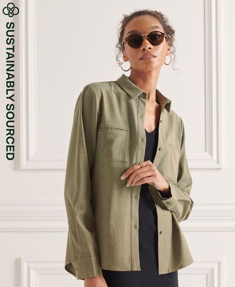 Camisa-Para-Mujer-Military-Shirt-Superdry